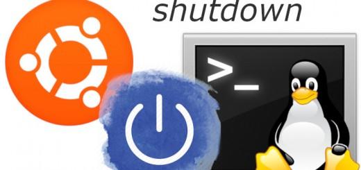 shutdown linux ubuntu poweroff console apagado programado apagar diferir programar