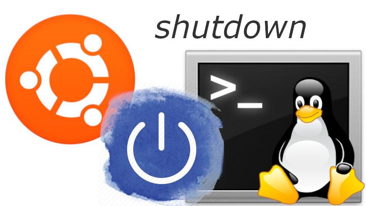 shutdown linux ubuntu poweroff console